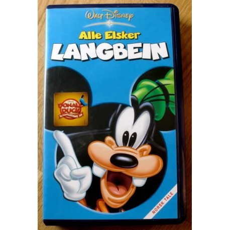 Alle elsker Langbein (VHS)