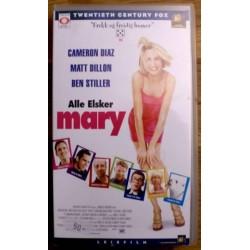 Alle elsker Mary (VHS)