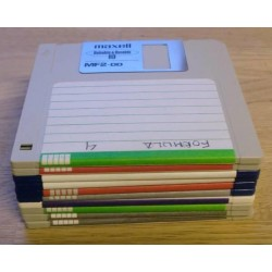 10 x disketter - Tilfeldig utvalg - Pakke 1