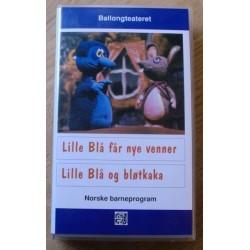 Ballongteatret - Lille Blå får nye venner (VHS)