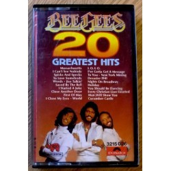 Bee Gees: 20 Greatest Hits (kassett)