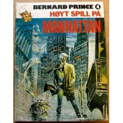 Bernard Prince - Nr. 4 - Høyt spill på Manhattan (1981)