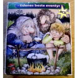 Komplett Asbjørnsen og Moe - Tidenes beste eventyr - 8 CD