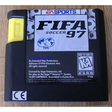 SEGA Genesis: FIFA Soccer 97