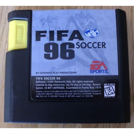 SEGA Genesis: FIFA Soccer 96