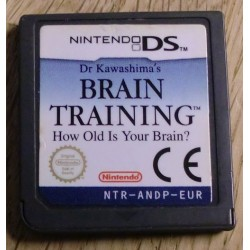 Nintendo DS: Dr. Kawashima's Brain Training - How old is your brain?