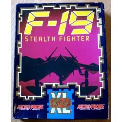 F-19 Stealth Fighter (Kixx XL / MicroProse)