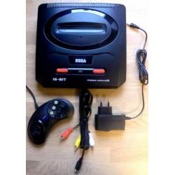 SEGA Mega Drive II: Konsoll med utstyr - Pakke 2