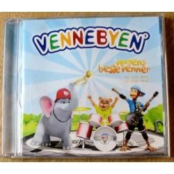 Vennebyen - Verdens beste venner (CD)