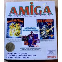 Amiga Challenge - Tre spill i en pakke! (Empire Software)