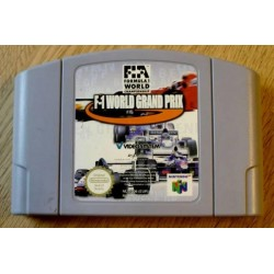 Nintendo 64: F-1 World Grand Prix (cartridge)