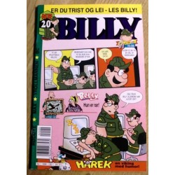 Billy - 2000 - Nr. 20 - Er du trist og lei - Les Billy!