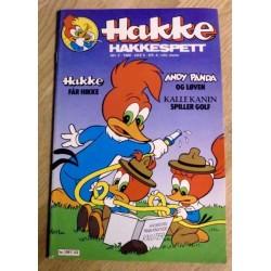 Hakke Hakkespett: 1980 - Nr. 2 - Hakke får hikke