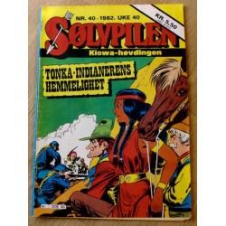 Sølvpilen: 1982 - Nr. 40 - Tonka-Indianerens hemmelighet