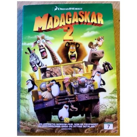 Madagaskar 2 (DreamWorks) (DVD)
