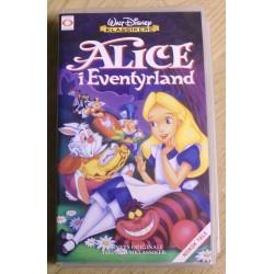 Walt Disney Klassikere: Alice i Eventyrland (VHS)