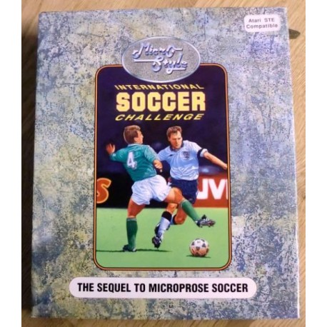 Atari ST: International Soccer Challenge (MicroStyle)