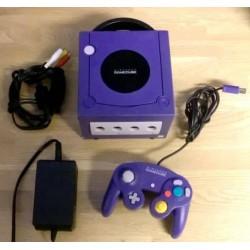 Nintendo GameCube: Komplett konsoll (lilla)
