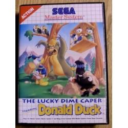 SEGA Master System: Donald Duck - Lucky Dime Caper