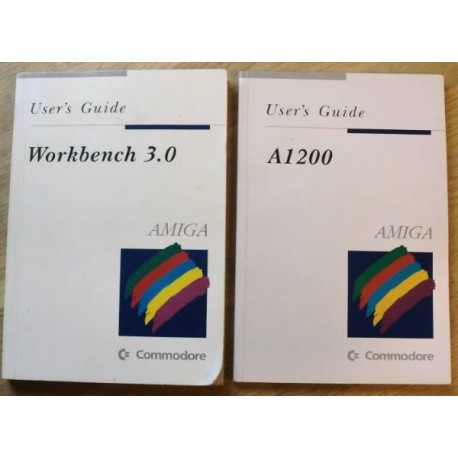 Amiga 1200 User's Guide og Workbench 3.0
