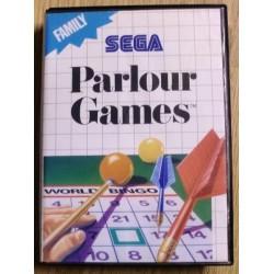 SEGA Master System: Parlour Games