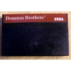 SEGA Master System: Bonanza Brothers - Cartridge
