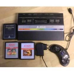 Atari 2600: Komplett konsoll med 3 spill!