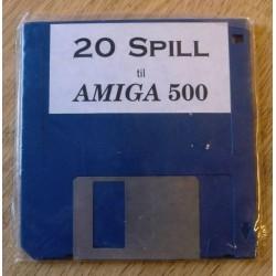 20 spill til Amiga 500 (diskett)