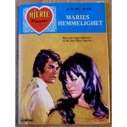 Hjerterevyen: 1981 - Nr. 26 - Maries hemmelighet