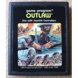 Atari 2600: Outlaw (cartridge)