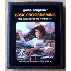 Atari 2600: Basic Programming (cartridge)