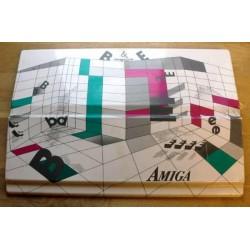 Støvdeksel til Amiga 500 i hardplast - B & E Impression