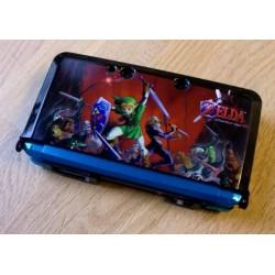 Nintendo 3DS konsoll med Zelda cover