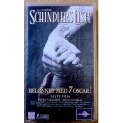 Schindlers Liste (VHS)