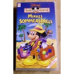 Tegnede Favoritter: Mikkes Sommersprell (VHS)
