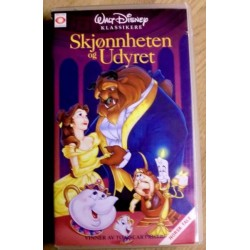 Walt Disney Klassikere: Skønnheten og udyret (VHS)