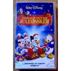 Donald Ducks juleønsker: Syv tegnede julegaver (VHS)