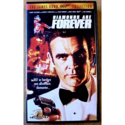James Bond 007: Diamonds Are Forever (VHS)