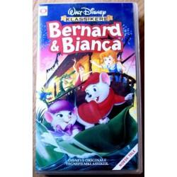Walt Disney Klassikere: Bernard & Bianca (VHS)