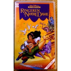 Walt Disney Klassikere: Ringeren i Notre Dame (VHS)