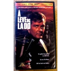 James Bond 007: Å leve og la dø (VHS)