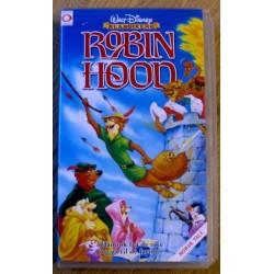 Walt Disney Klassikere: Robin Hood (VHS)