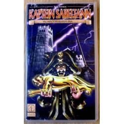 Kaptein Sabeltann og Den forheksede øya (VHS)