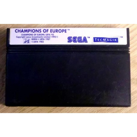 SEGA Master System: Champions of Europe (TecMagik)