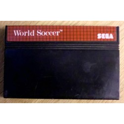 SEGA Master System: World Soccer - Cartridge