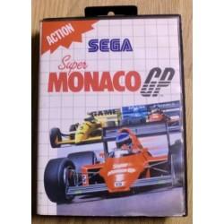 SEGA Master System: Super Monaco GP
