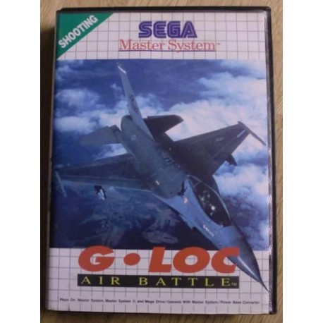 SEGA Master System: G-LOC Air Battle