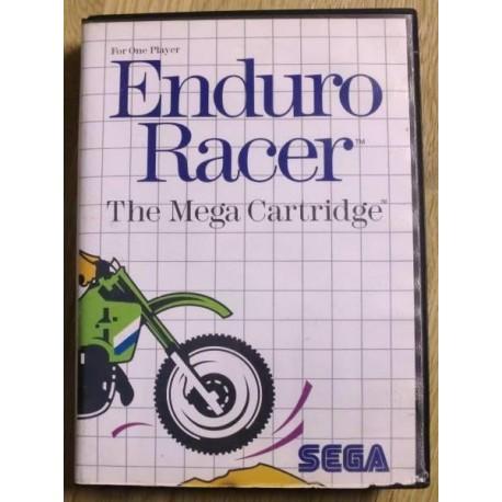 SEGA Master System: Enduro Racer - The Mega Cartridge