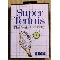 SEGA Master System: Super Tennis - The SEGA Cartridge