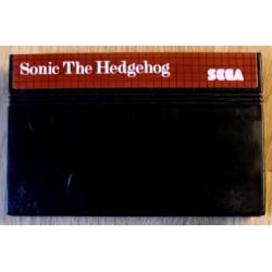 SEGA Master System: Sonic The Hedgehog - Cartridge